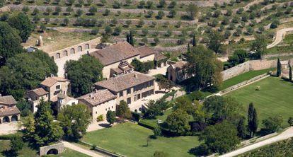 Chateau Miraval, propiedad de Angelina Jolie y Brad Pitt en el sur de Francia.
