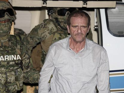 Héctor Palma Salazar, detenido el 15 de junio de 2016 en Ciudad de México.