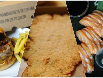 Tres opciones de comida a domicilio de calidad en Madrid.