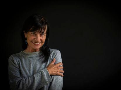 La neurocientífica Mara Dierssen, en el centro de regulación genómica, en Barcelona el pasado viernes.
