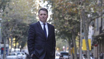 El director ejecutivo adjunto de UNICEF, Justin Forsyth, este sábado en Barcelona
