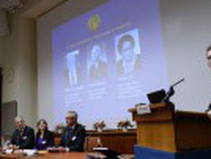 El irlandés William Campbell, el japonés Satoshi Omura y la china Tu Youyou reciben el galardón por desarrollar tratamientos contra estas enfermedades