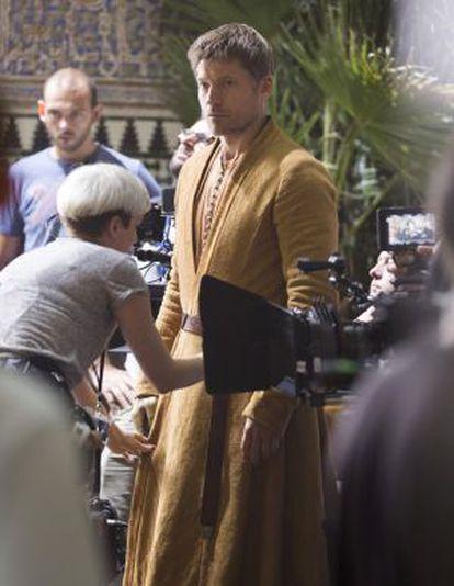 Jaime Lannister ha sido uno de los protagonistas del rodaje de Sevilla.