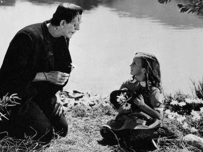 Fotograma del 'Frankenstein' (1931), de James Whale.