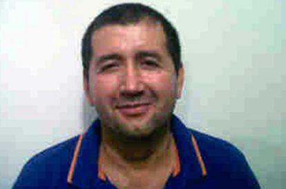Imagen de 'El loco' distribuida por la Policía de Colombia.