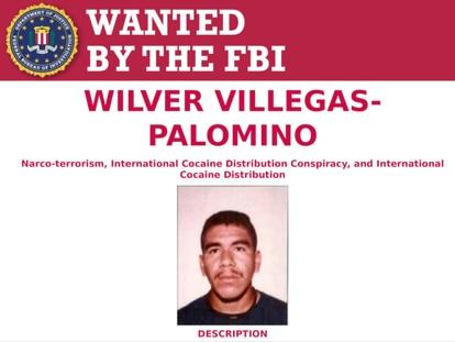 Wilver Villegas-Palomino, buscado por el FBI.
