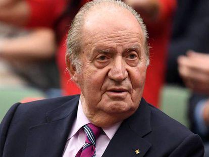 Don Juan Carlos de Borbón. En vídeo, el Rey emérito participará junto a Felipe VI en la ceremonia que conmemorará los 40 años de la Constitución.