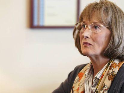 Meryl Streep en el tráiler de la segunda temporada de 'Big Little Lies'.