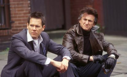 Kevin Bacon y Sean Penn, en 'Mystic River'.