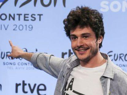 El joven de Terrassa, de 23 años, acudirá al festival en Tel Aviv con su canción  La venda