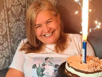 La colombiana Martha Sepúlveda, en una imagen de sus redes sociales.
