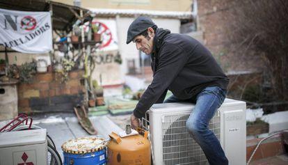 Roger, afectado por una operación inmobiliaria en Sant Andreu.