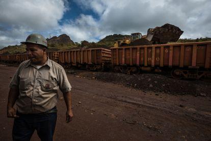 Una mina del Arco Minero Orinoco en las afueras de Ciudad Piar, Venezuela, en julio de 2015.