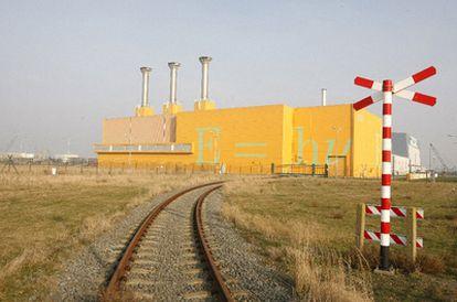 Vista exterior del almacén nuclear de Borssele (Holanda)