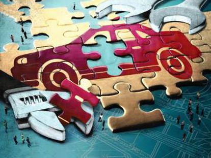 El triunfo de los fabricantes españoles de componentes para automóviles