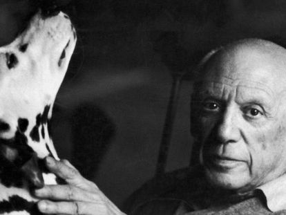 El pintor español Pablo Picasso, en una imagen de archivo.