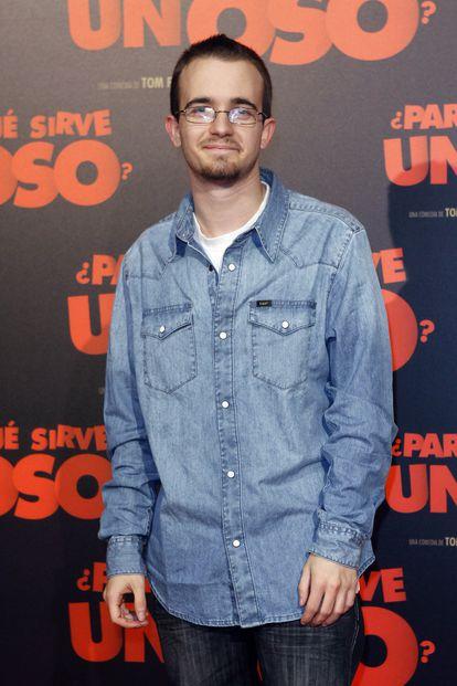 El actor Daniel Retuerta, en Madrid en 2011.