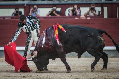 Juan Ortega, el pasado 15 de agosto en Madrid.