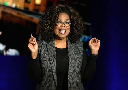 La presentadora Oprah Winfrey.