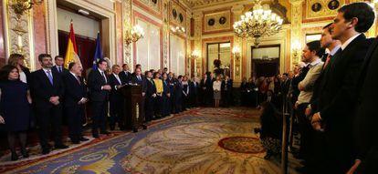 Celebración del Día de la Constitución en el Congreso de los Diputados.