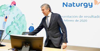 El presidente de Naturgy, Francisco Reynés, el pasado 5 de febrero.