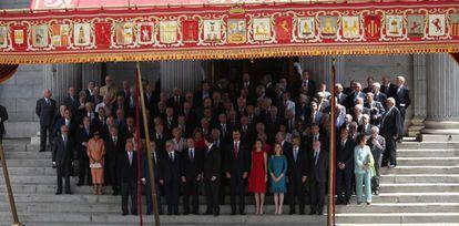 Acto conmemorativo 40 años de las primeras elecciones.