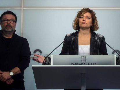 Joan Josep Nuet y Elisenda Alamany.