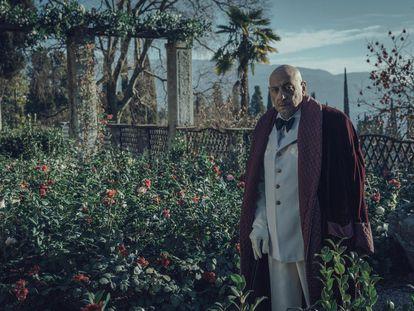 Sergio Castellitto como D'Annunzio en 'El poeta y el espía'.