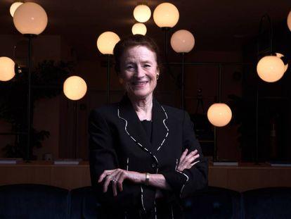 Henrietta H. Fore, directora ejecutiva de Unicef, este lunes en Madrid.
