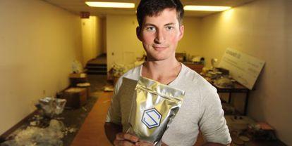 Rob Rhinehart, creador de los polvos alimenticios Soylent.
