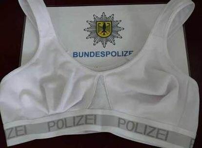 Miles de policías alemanas usarán este sujetador.
