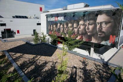 Estudios de Netflix en Tres Cantos (Madrid).