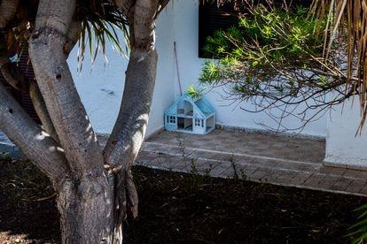 Detalle exterior de la finca donde residía Tomás Antonio G.C., en Candelaria (Tenerife).