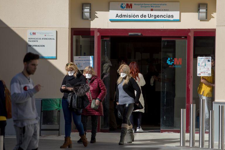 Resultado de imagen de Madrid  coronavirus