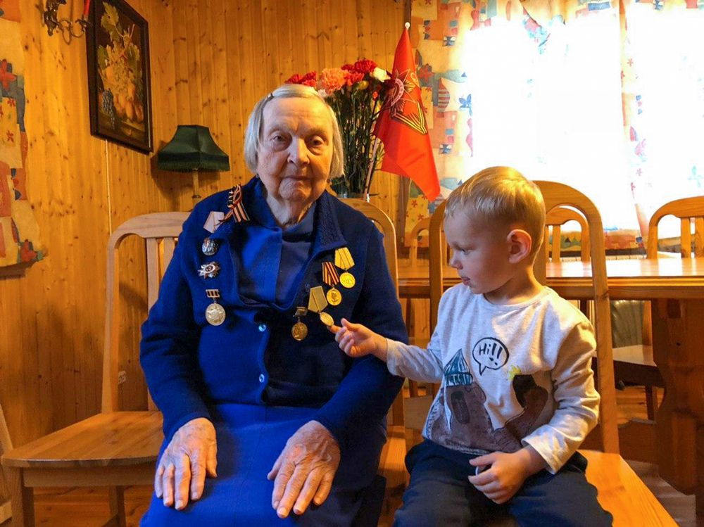 La veterana del Ejército Rojo que lucha contra el coronavirus