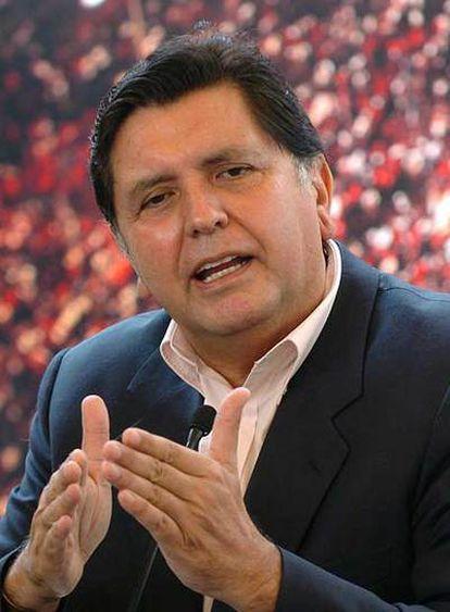 Alan García.