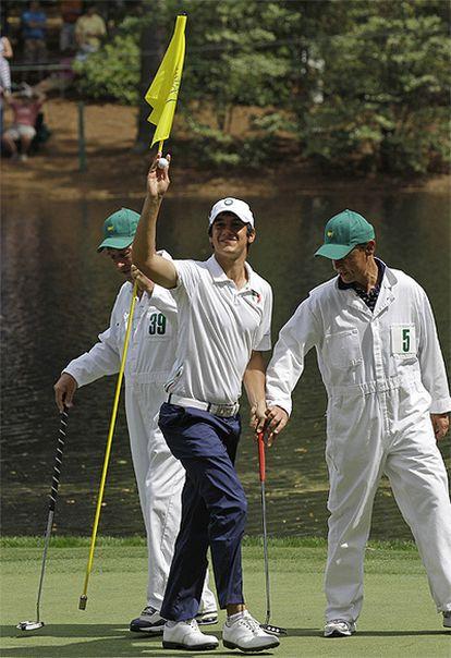 El golfista Matteo Manassero, de 16 años, fija su mira en Severiano Ballesteros por encima de Woods y McIlroy