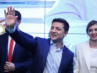 Volodimir Zelenski, el nuevo presidente de Ucrania.