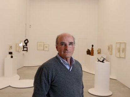 Ignacio Chillida, hijo del artista, en Madrid.