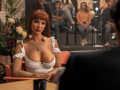 Daniela Santiago, en un instante del quinto capítulo de 'Veneno'