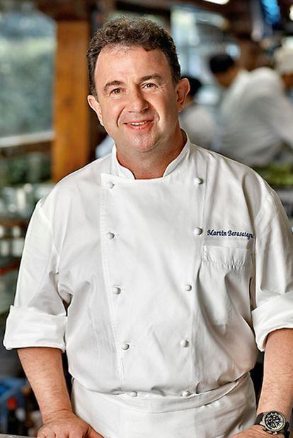 Martín Berasategui, cocinero.