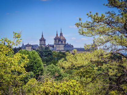 El Monasterio del Escorial.