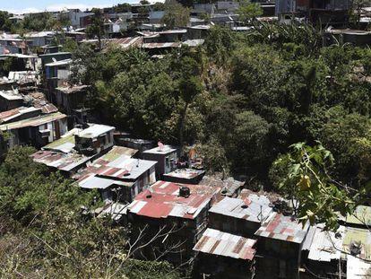 El asentamiento de La Carpio, donde se han instalado muchos de los refugiados nicaragüenses en Costa Rica.