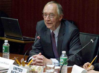 El enviado de Naciones Unidas para el Sáhara, Peter van Walsum.