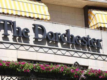 Hotel en el que se celebró la fiesta solo para hombres que ha provocado la dimisión de un alto cargo británico.