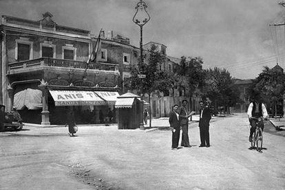 Una de las imágenes del libro <i>La memoria rescatada. Fotografía y sociedad en Aspe</i> (1870-1976).