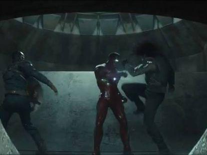 El tráiler de 'Civil War' enfrenta a Capitán América y Iron Man