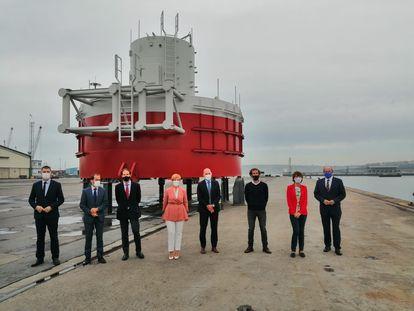 Inauguración Laboratorio Tecnalia en el Puerto de bilbao.