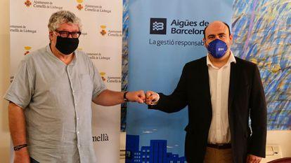 Aguas de Barcelona y el Ayuntamiento de Cornellà renuevan la alianza para no cortar el agua a nadie que no la pueda pagar.