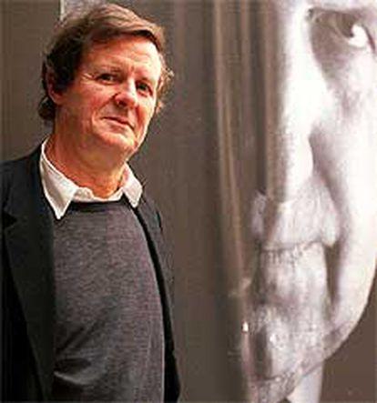 El dramaturgo David Hare, ayer en Barcelona.